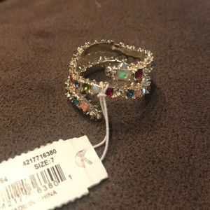 Kendra Scott multi jeweled Beck ring!!